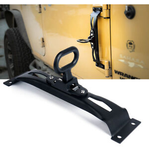 Xprite Door Hinge Side Foot Pedal Step Metal Steel For Jeep Wrangler 07 17 Jk