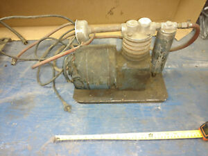 Vintage Antique Decora Compressor Great Piece See Pics