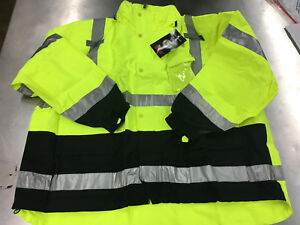 Tingley J24122 Icon Ansi Class 3 Jacket Waterproof Breathable Size 4xl