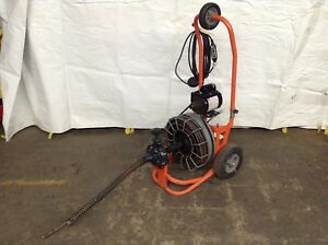 General Wire Mini rooter Sewer Snake Commercial Plumbing Drain Clog Cleaning