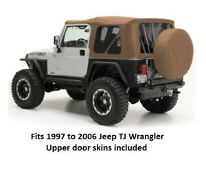 Smittybilt Replacement Soft Top For 97 06 Jeep Tj Wrangler Spice