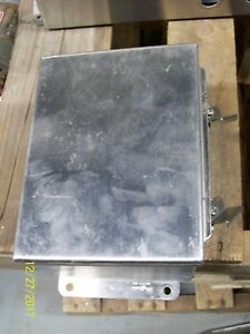 Hoffman Stainless Steel Enclosure Junction Box A 8064chnfss