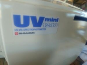Shimadzu Uv Mini 1240 Uv vis Spectrophotometer Car No 205 89175 92