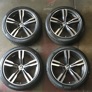 A Set Of 2016 2017 Bmw 740i 750i 20 Alloy Wheel Tires Oem Factory 86281 86285