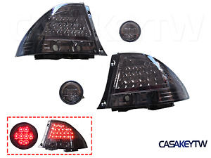 Somked Tail Lights Rear Trunk Led Lights For Lexus Is200 Is300 98 05 Led Altezza