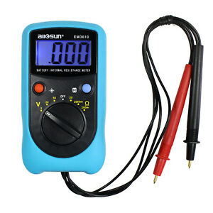 Handheld Digital Battery Internal Resistance Tester Digital Battery Analyzer