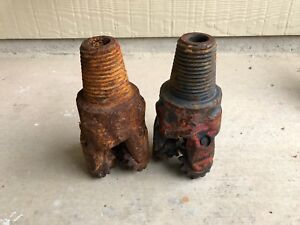 Two 4 1 4 Tricone Drill Bit Oil Gas Water Well Drilling Equipment Tools