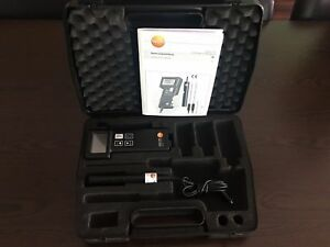 Testo 240 Conductivity Temperature Measuring Instrument Testo240