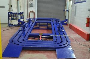18 Auto Body Frame Machine Including Clamps Tools Cart 2d Measuring