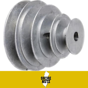 4 Step Pulley 143 X 1 2 Bore 3 3 1 2 4 4 1 2 1 Set Screw For 1 2 Belt