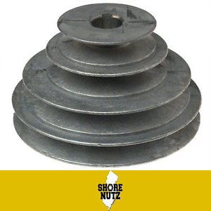 4 Step Pulley 147 2 3 4 5 X 1 Bore 1 4 Keyway For 1 2 Belt