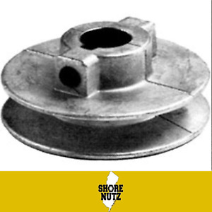 Chicago Die Cast Single V Groove Pulley A Belt 3 1 2 Od X 5 8 Bore 350a6