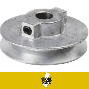 Chicago Die Cast Single V Groove Pulley A Belt 4 Od X 1 2 Bore 400a5