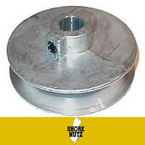 Chicago Die Cast Single V Groove Pulley A Belt 4 1 2 Od X 3 4 Bore 450a7