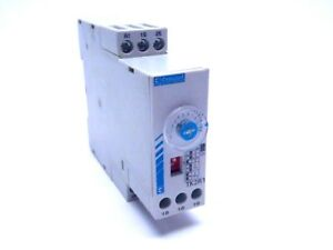 Crouzet Tk2r1 Din Rail Mount Timer 2 Relay 8a 0 6 S 160 S