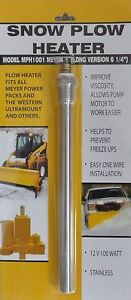 Snow Plow Heater Power Pack Meyer Western Fisher