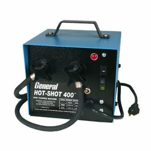 General Hot Shot 400 Pipe Thawing Machine Frozen Thawer Plumbing Repair Tool