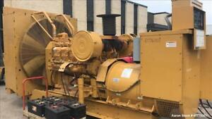 Used Caterpillar 900 Kw Standby Diesel Generator Set Cat 3508 Engine Rated 133