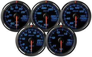 Defi Df06601 Blue Racer Gauge Press Gauge Black Blue 0 140psi 52mm