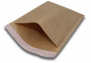 0 6x10 Padded Envelopes Kraft Bubble Mailers Small Bubble Envelopes 250pcs By B