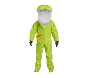 Dupont Tychem Tk Personal Protection Training Suit Lime Yellow Xxl With Bag