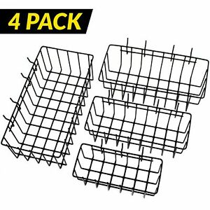 Toolassort Pegboard Basket Set Of 4 Hooks Easily To Arrange Accessories