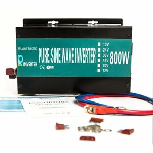 Reliable 800w Led Display Home Generator True Pure Sine Wave Solar Power
