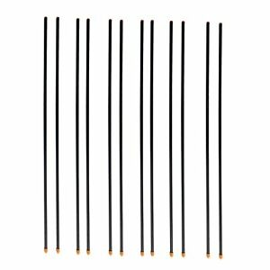 Farmily Fiberglass Rod Post For Electric Fence 35 Inch 12 Pieces Per Bundle