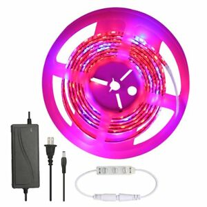 Grow Light Strip glime 5050 Smd Led Plant Light With Control Panel 5m Waterproof