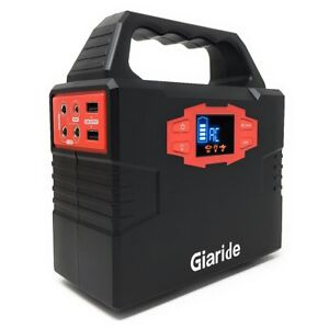 150wh Portable Generator Giaride Solar Power Inverter 40800mah Battery Pack