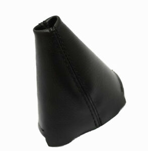 Shift Boot Synthetic Leather For Honda Civic 06 11 Manual Black