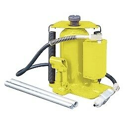Esco Equipment 10446 Yellow Jackit 20 Ton Air Hydraulic Bottle Jack