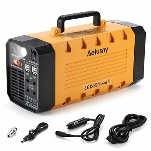 Aeiusny Ups Backup Battery 500w Portable Generator Parts Uninterrupted Power