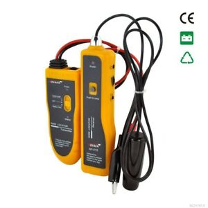 F 816 Underground Tube Wall Wire Cable Line Locator Lan Tracker Detector Tester