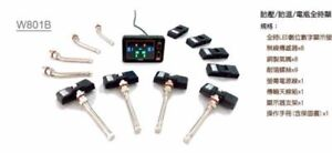 Oro W801b Tpms For Large Vehicle w 8 Sensors 8 Tire Sensors And 1 Receiver