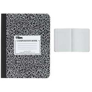 Tops 63796 7 1 2 X 9 3 4 College Ruled Classic Composition Notebook