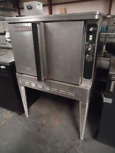 used Blodgett Dgf 100 Full Size Nat Gas Convection Oven W Stainless Legs