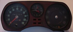 Vintage Vw Audi Dash Instrument Cluster Panel
