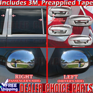 1997 2002 Ford Expedition Chrome Door Handle Covers W Opsgkeyhole Pillar Mirrors