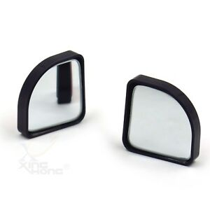 2x Convex Angle Auto Car Blind Spot Round Stickon Side View Rearview Mirror