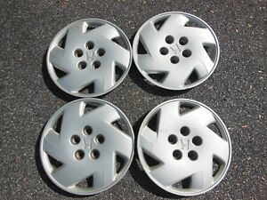 Set Of 4 Honda Accord Hubcaps Wheel Covers 98 99 00 01 02 15 Factory 55046 1