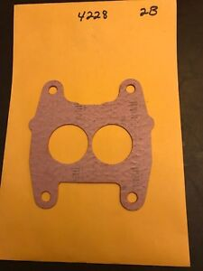 1951 54 Chrysler 331 1952 57 Desoto 276 291 330 341 345 Carburetor Mount Gasket