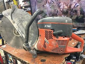 Husqvarna K760 14 Concrete Cut off Saw used Free Shipping