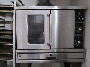 Garland Full Size Gas Convection Oven With Stand Tg3