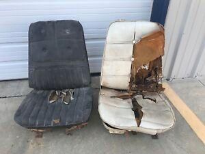 Gm Chevy Chevelle Ss 442 Gto Cutlass Skylark Gm Bucket Seats Cores With Tracks