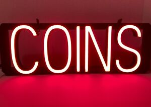 Spellbrite Coins Retail Sign Led Lights