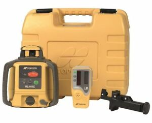 Self Leveling Rotary Laser Horizontal Level Tool Dry Battery Topcon Rl H4c Case