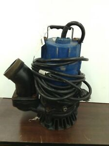 Tsurumi Hs3 75s Submersible Sump Pump Trash Water 1 Hp 3 In Small Portable Well