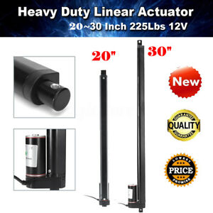 20 30 Heavy Duty Linear Actuator Stroke 225 Lbs Pound Lift 12v Volt Dc