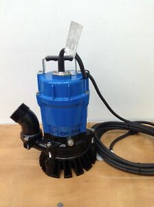 New Tsurumi Hs2 4s 62 Submersible 2 Sump Pumps Trash Water Waste Dewatering